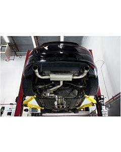 """CTS Turbo MK7 GTI 3"""" Turbo Back Exhaust (With High Flow Cat)"""