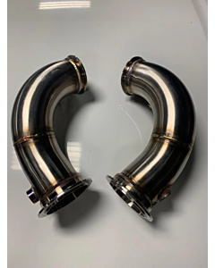 Project Gamma Primary Catless Downpipes for BMW M5 F90