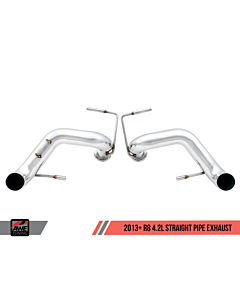 AWE Tuning Audi R8 4.2L Straight Pipe Exhaust (2014+)