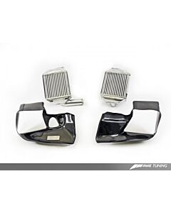 AWE Tuning Audi S4 2.7T Performance Intercooler Kit - With Carbon Fiber Shrouds