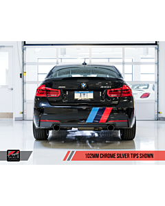 AWE Tuning BMW F3X 340i / 440i Touring Edition Axle Back Exhaust