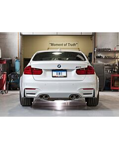 AWE Tuning BMW F8X M3/M4 Resonated SwitchPath Exhaust -- Chrome Silver Tips (90mm)