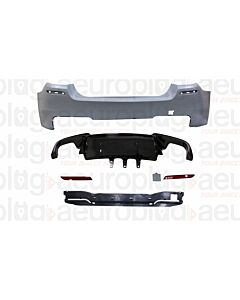 BMW F10 M5 STYLE REAR BUMPER WITHOUT PDC