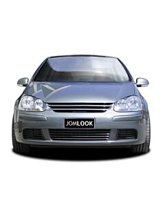 Grille without emblem, black suitable for VW Golf MK5 Rabbit
