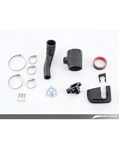 AWE Tuning Diverter Valve Relocation Kit - 2.0T FSI with AWE Tuning housing for stock type diverter valve