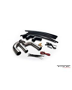 VRSF Stainless Steel High Flow Inlet Intake Kit N54 07-10 BMW 335i / 08-10 BMW 135i