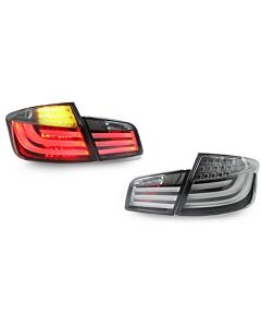 DEPO BMW F10 WHITE LINE TAIL LIGHTS KIT