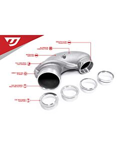 UNITRONIC 4 INCH TURBO INLET ELBOW FOR 2.5TFSI EVO